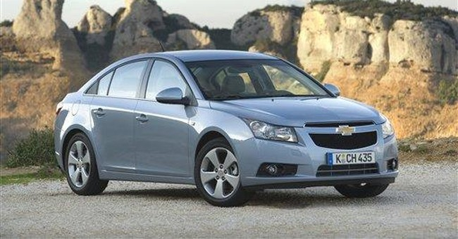 AP Sources: GM to sell diesel Chevy Cruze in US