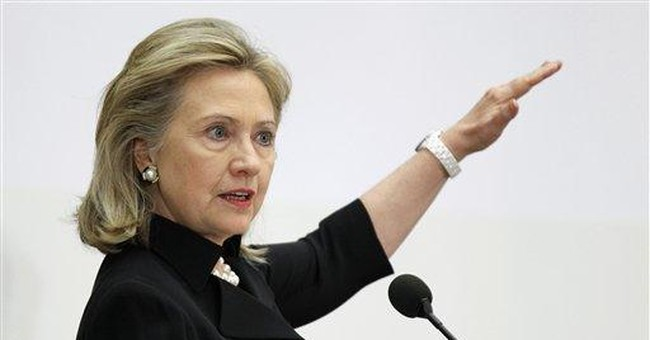 Clinton: Diplomacy key to job creation in US