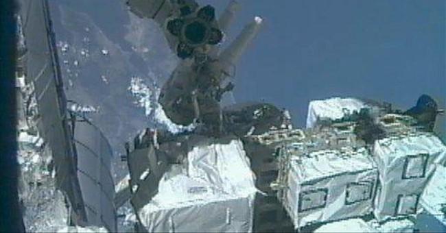Astronauts make last spacewalk of NASA shuttle era