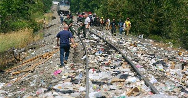 Cell phone records examined in Maine train crash