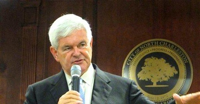 Campaign on life support, Gingrich meets a coroner