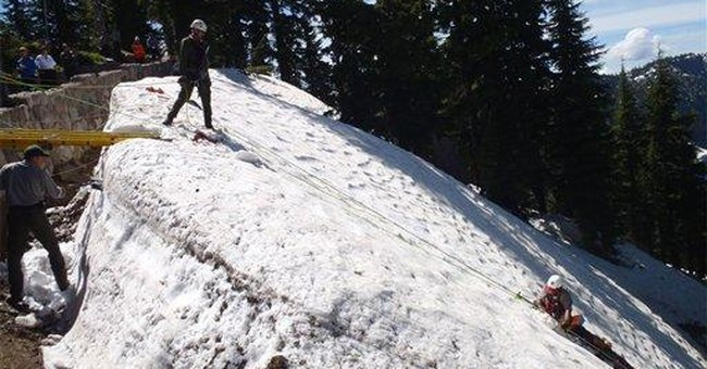 Oregon rangers rescue man from fall at Crater Lake