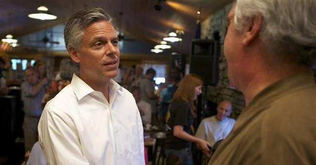 Huntsman criticizes Romney's Mass. job performance