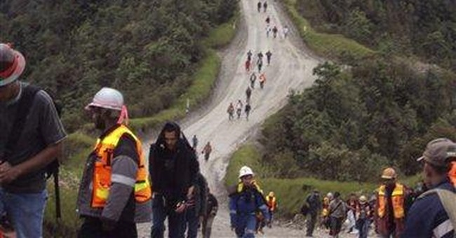 Indonesian workers end strike at biggest gold mine