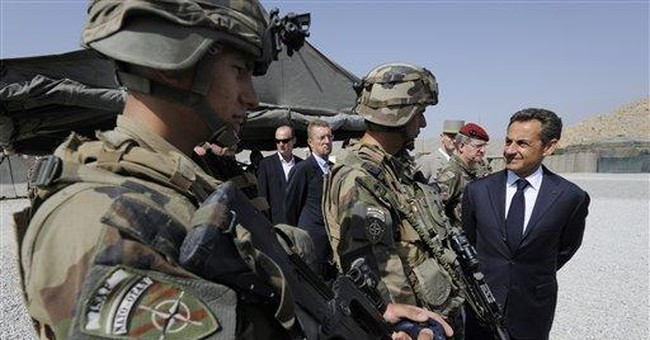 French president says Afghan mission changing