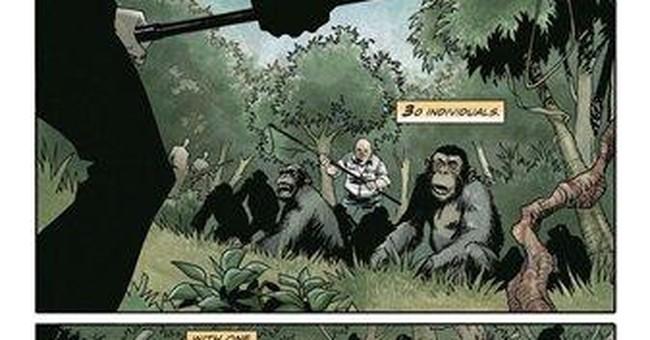 BOOM!, Fox bring 'Apes' comic prelude online