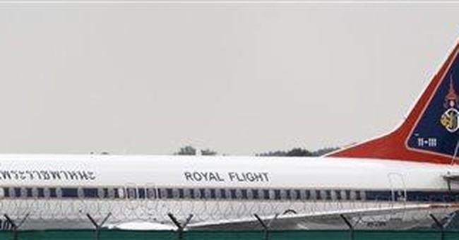 Thailand seeks to retrieve Crown Prince's plane