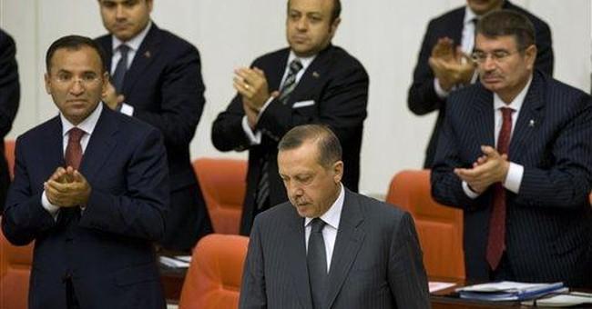 13 Turkish soldiers, 7 Kurdish rebels killed