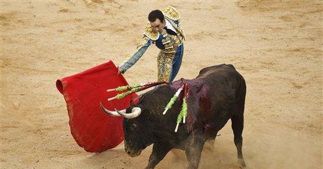 No gorings in final San Fermin bull run in Spain