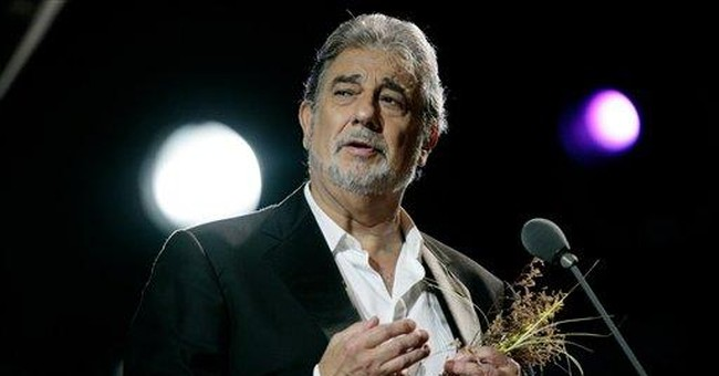 Domingo sings live from streets of Italy, on PBS