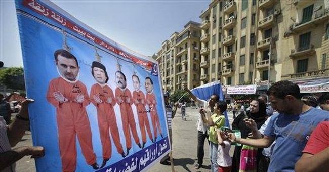 Egyptians rally, demand trials for police shooters