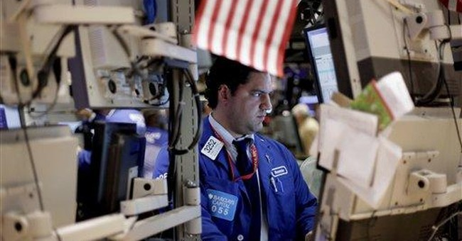 Stocks narrowly miss having worst week in a year