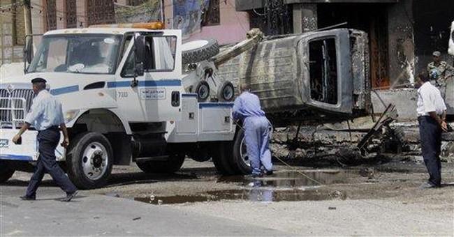 5 killed in bombings in Iraq