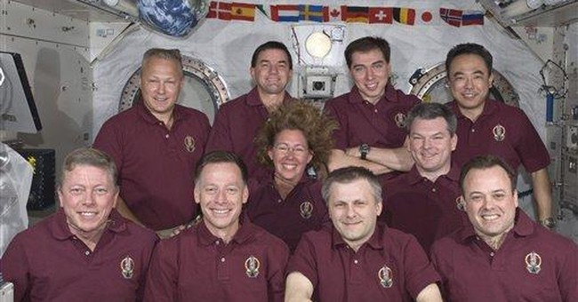 Last space shuttle crew almost done packing up