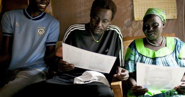 A mom in African refugee camp; son thrives in US