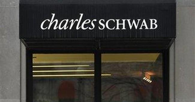 Schwab's income rises 16 percent in second quarter
