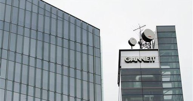Gannett reports lower 2nd-quarter earnings
