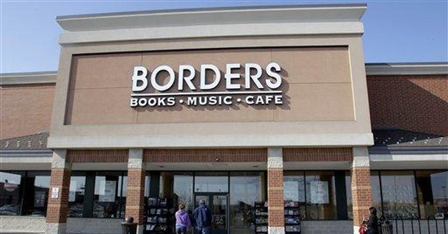Borders' seeks approval to liquidate, close stores