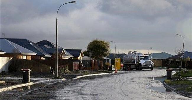 7,500 earthquakes shake resolve in NZealand city
