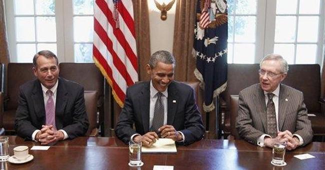 Debt talks and little else on Washington's agenda