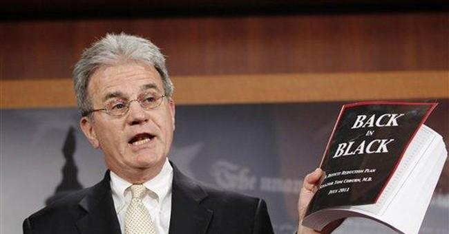 Coburn proposes $9 trillion deficit cut measure
