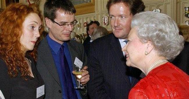 Piers Morgan defends himself, Murdoch in scandal
