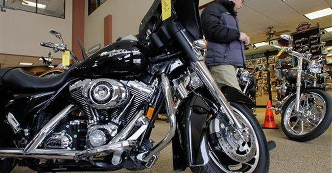More Americans are buying Harley motorcycles