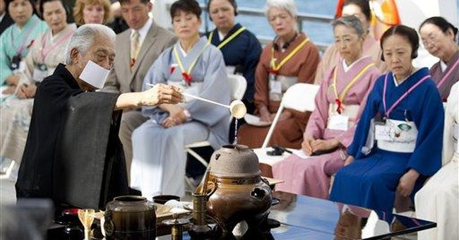 Japanese tea ceremony held at Pearl Harbor