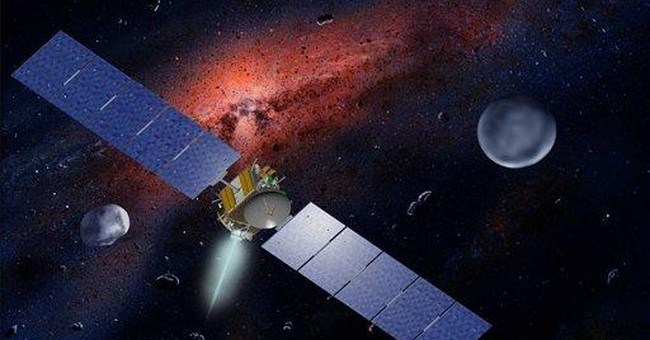 NASA spacecraft is orbiting massive asteroid