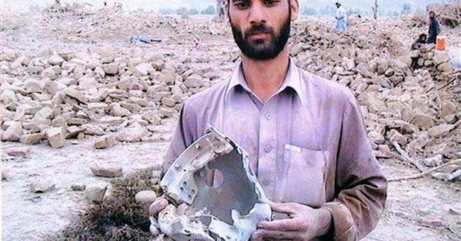 Photo exhibit shows alleged US drone strike deaths