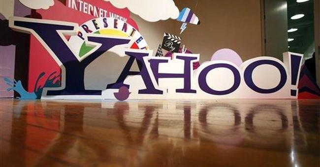 Yahoo 2Q revenue drop overshadows earnings gain