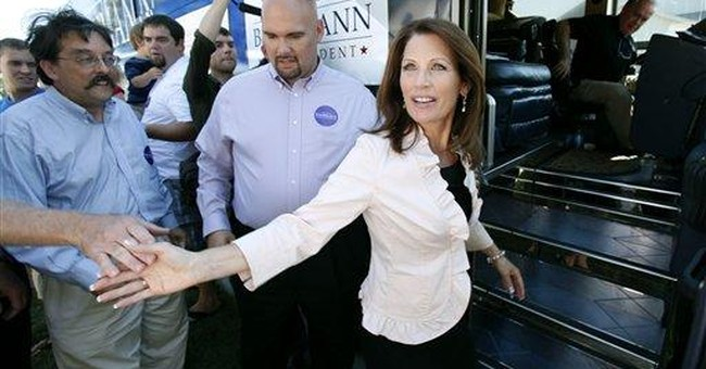 Bachmann vows she'll submit only balanced budgets