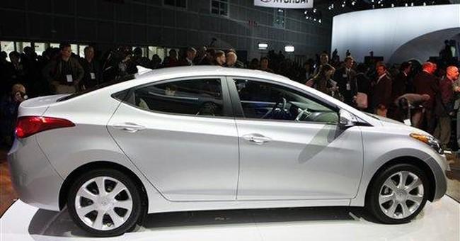 Hyundai Elantra a real looker