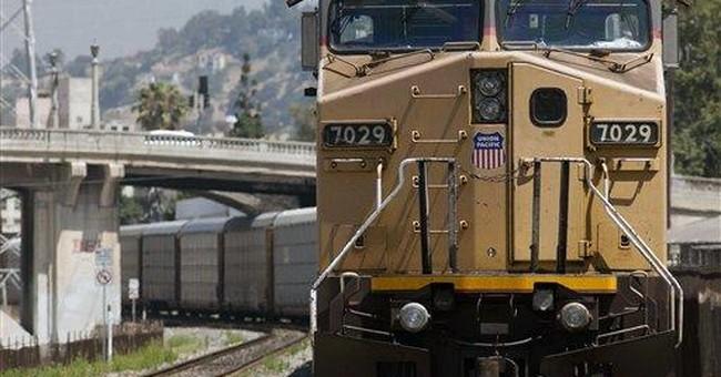 Union Pacific 2Q profit up 10 pct despite issues