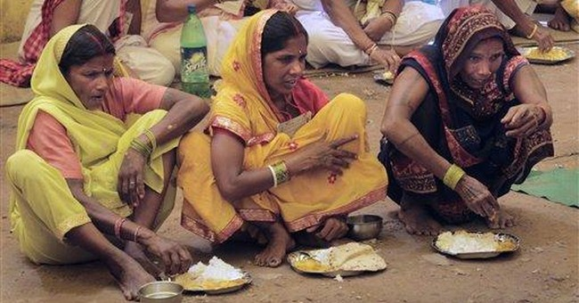 India weddings faulted for prodigious food waste