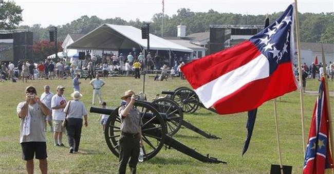 Wool-clad Civil War re-enactors brace for heat