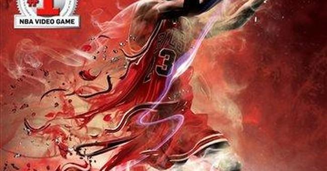 Jordan, Magic and Bird to cover 'NBA 2K12' game