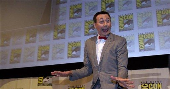 Pee-wee Herman aims to hit the road in new movie