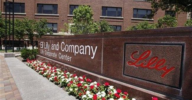 Drugmaker Eli Lilly's 2Q profit falls 11 percent