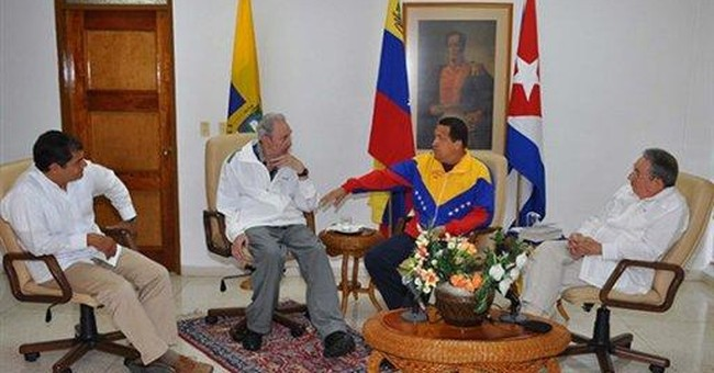 Chavez says 'first cycle' of chemo completed