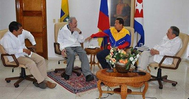 From Cuba, Venezuela's Chavez governs via Twitter