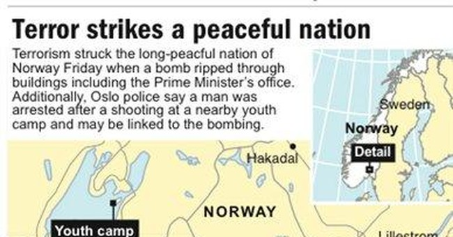 Witnesses describe scene of terror at Norway camp