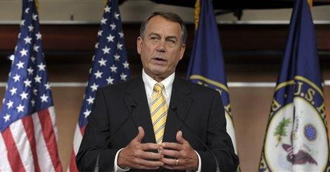 Boehner confident government won't default