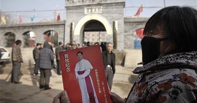 China considers ordaining 7 more bishops amid rift