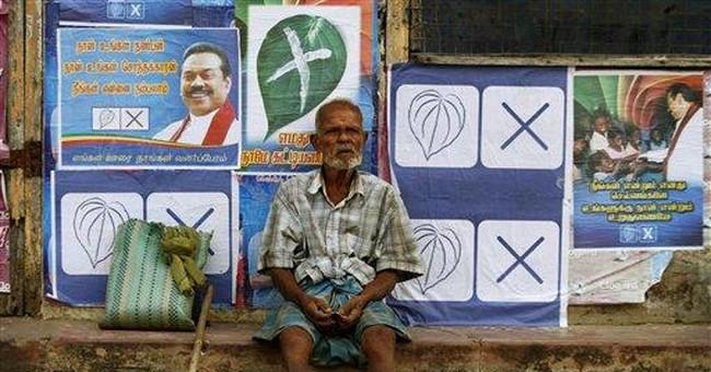 Proxy to former rebels sweeps Sri Lanka elections