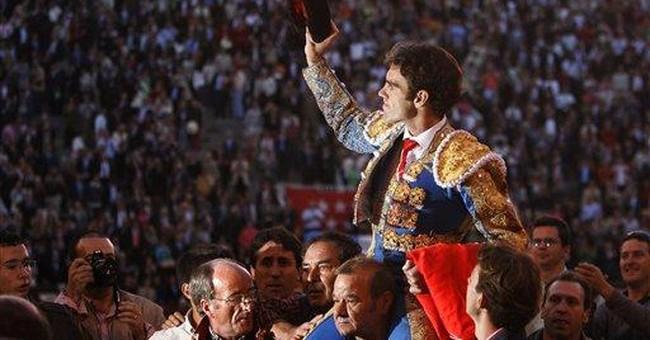 Famed Spanish matador returns after brutal goring