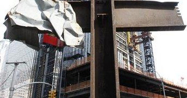 World Trade Center cross moved to permanent home