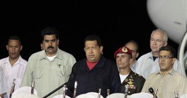 Chavez returns to Venezuela from Cuba after chemo