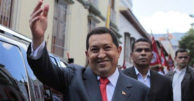 Chavez sings, optimistic after 1st week of chemo