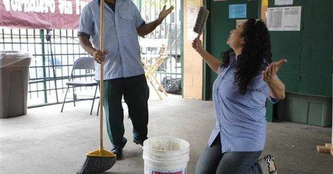 LA day laborers double as actors to teach, empower